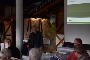 Vortragsbeginn durch Steffen Heinzmann IDT